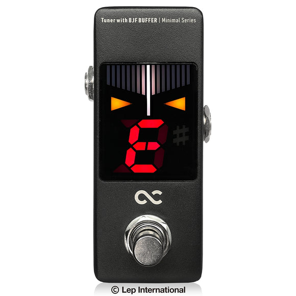 One Control Minimal Series Tuner with BJF BUFFER -TUNE POWERED BY KORG- / ペダル チューナー エフェクター