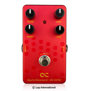 One Control Dyna Red Distortion 4K / ワンコントロール ギター エフェクター ディストーション
