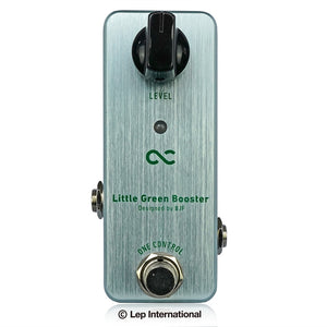 One Control Little Green Booster / ワンコントロール エフェクター ブースター