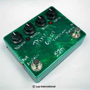 BJFE Pine Green Compressor Deluxe / コンプレッサー ギター エフェクター