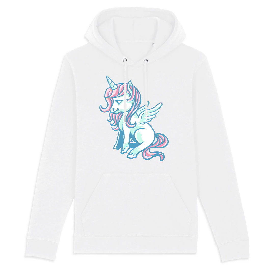 Sweat à capuche licorne -