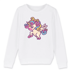 "Sweat licorne enfant - ""unicorn jump"" - Clairement licorne"