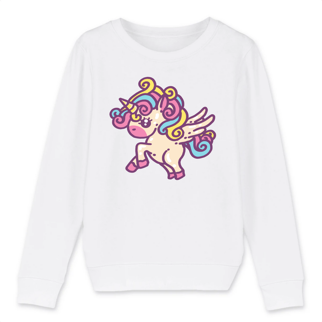 Sweat licorne enfant -