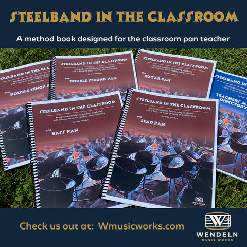 Steelband in the Classroom method book
