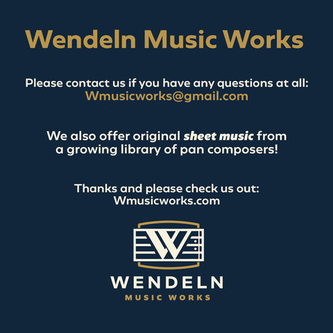Wendeln Music Works- please contact us for any questions