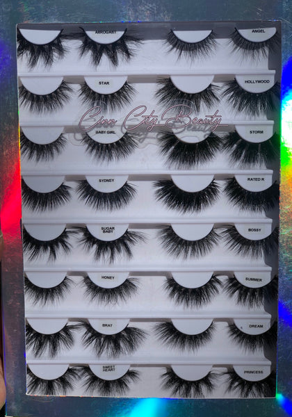 Once Upon A Lash Book -Princess Edition