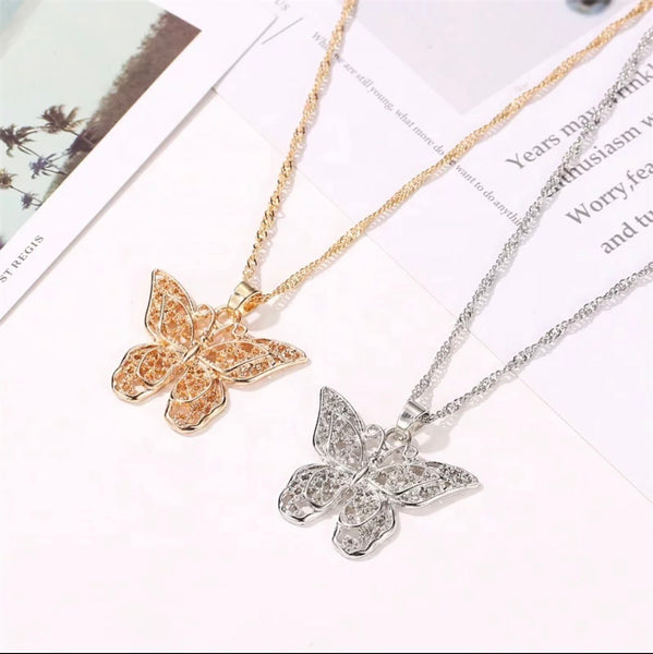 Butterfly Charm Necklace