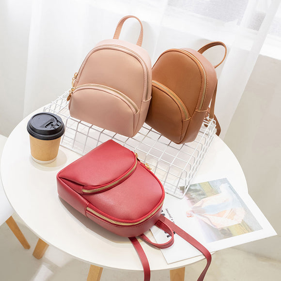 Multi-Function Leather Shoulder Bag