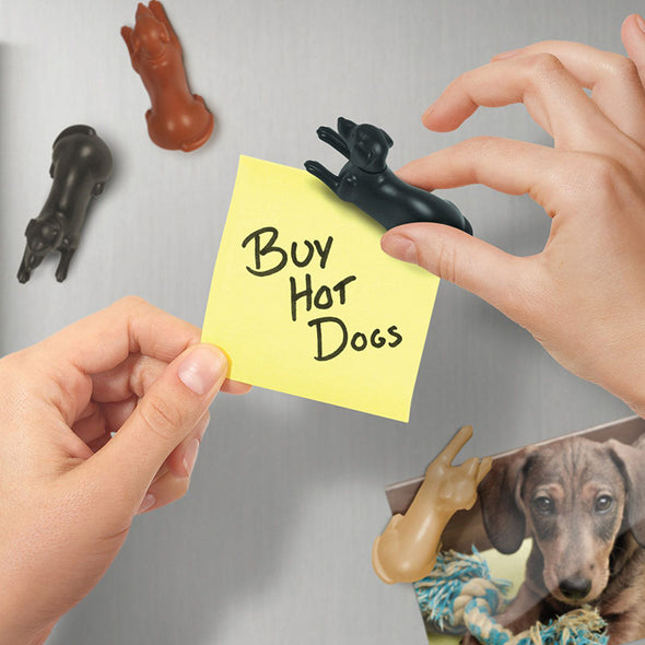 MagneticPups - Set of 4 Fridge Magnets