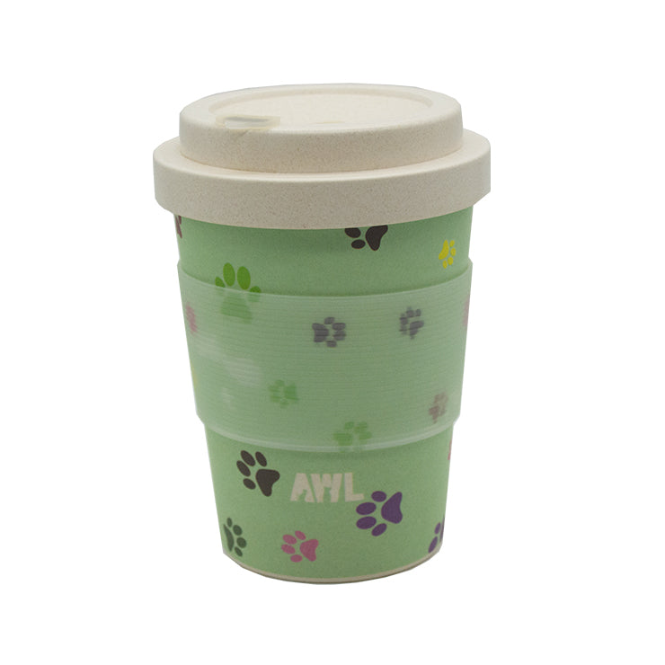 Paws for Coffee Natural Takeaway Cup