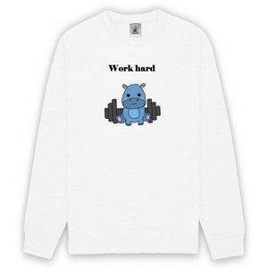 Work Hard - Sweat-shirt unisexe