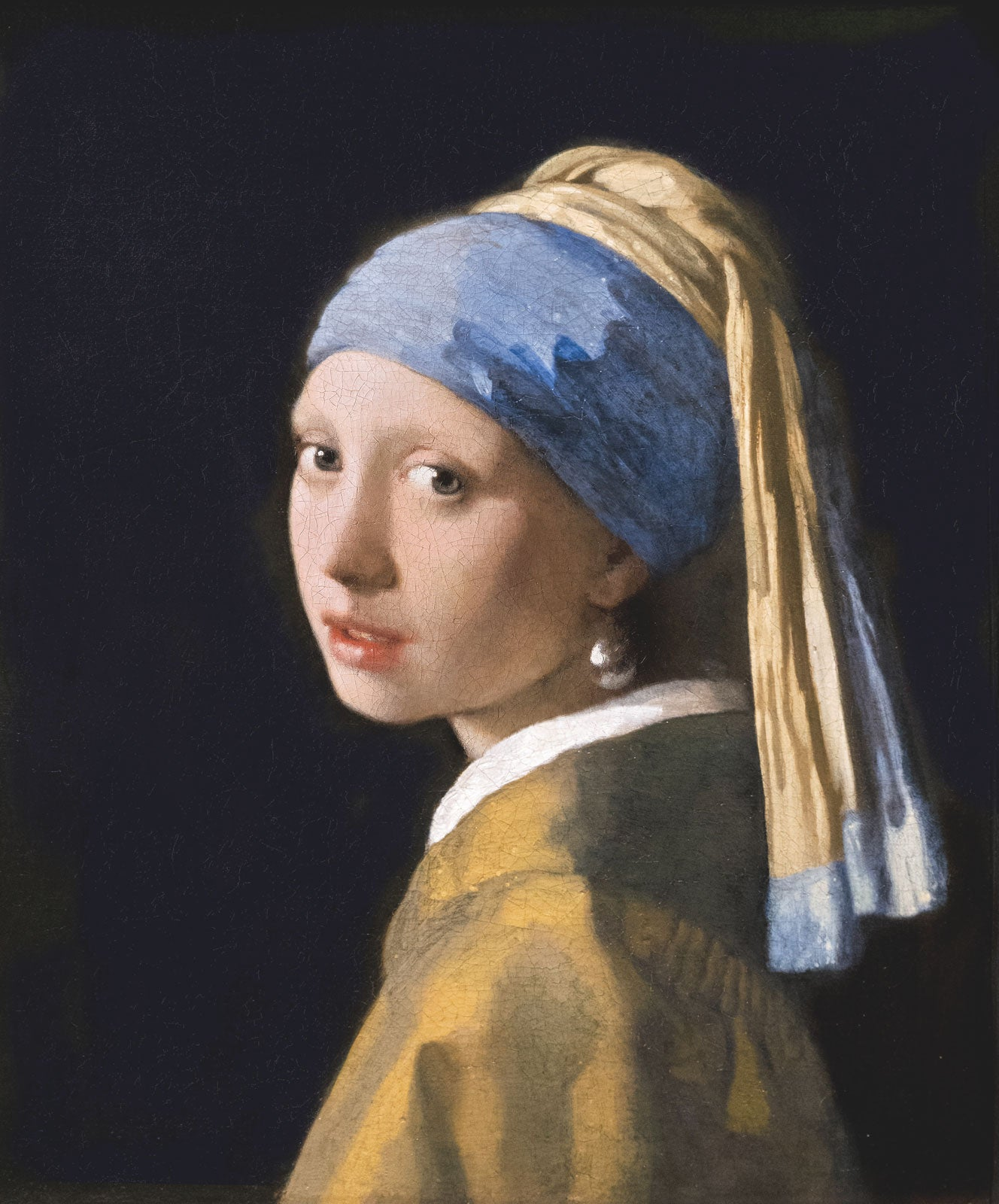 Girl With a Pearl Earring by Johannes Vermeer - Organic T-Shirt