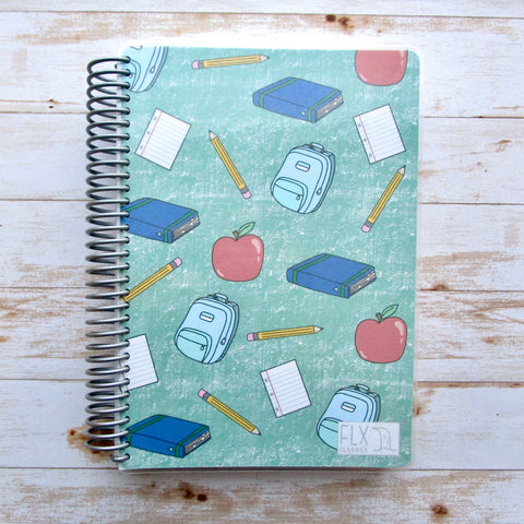 School Essentials Undated 4-Month Hybrid FLX Planner