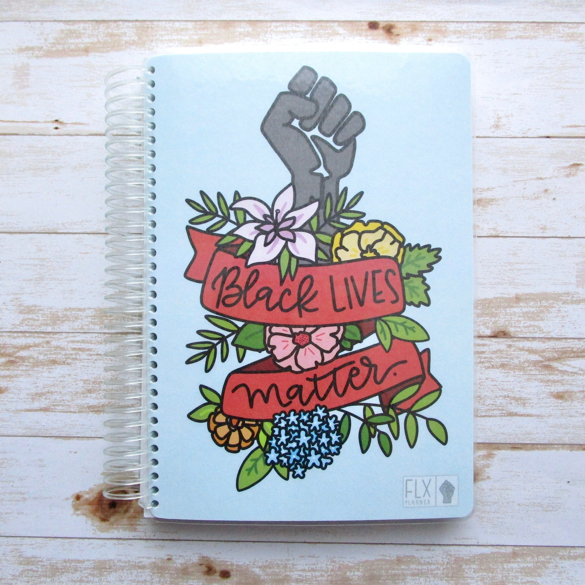 CLEARANCE - Floral BLM Undated 12-Month Weekly Planner (CL5)
