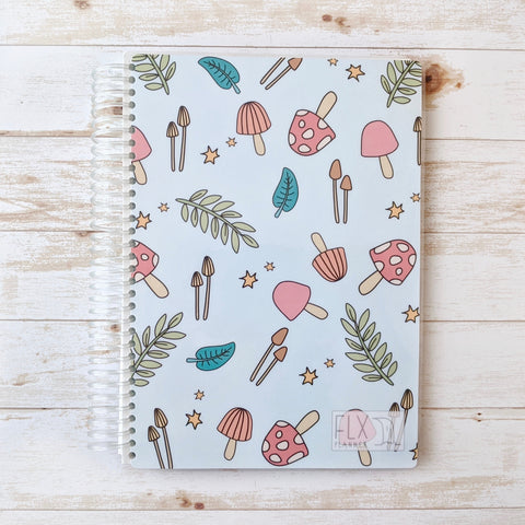 Mushroom Undated 6-Month Daily FLX Planner