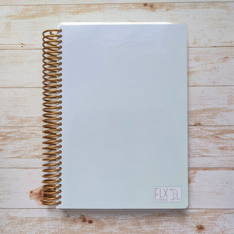 CLEARANCE - Blue/Green 12-Month Weekly Planner 100 lb paper (CL16)