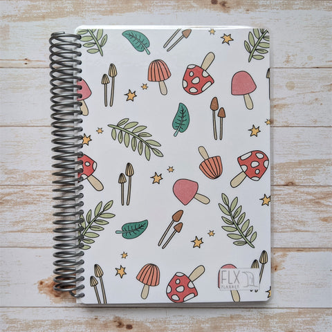 CLEARANCE - Mushroom Weekly Planner 80 lb paper (CL13)