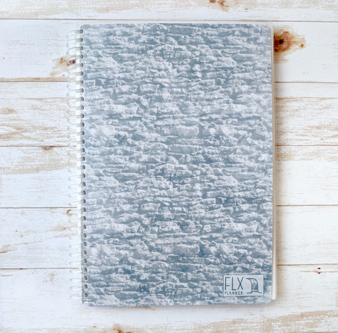 Stone Undated 6-Month Daily FLX Planner