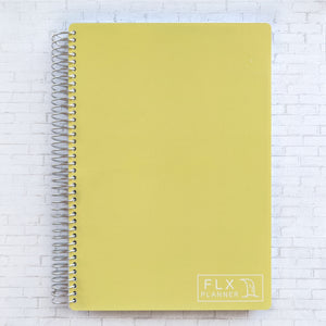 Lemon B5 Undated 6-Month Daily FLX Planner