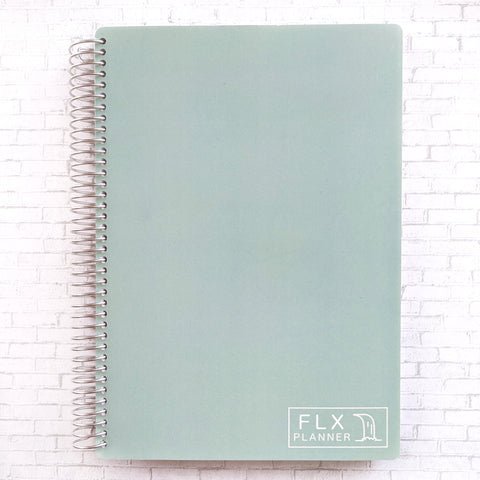 Sage B5 Undated 6-Month Daily FLX Planner