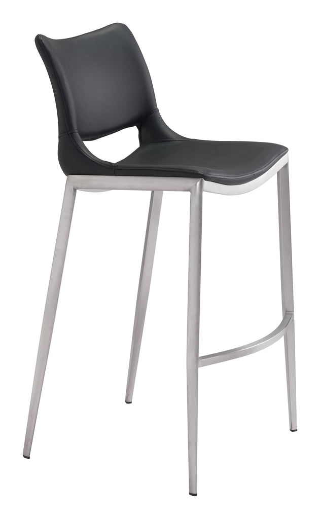 Bar Chair black silver pink silver grey walnut