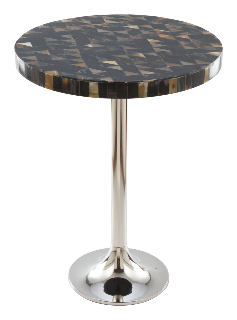 Cluster side table multi stone accent table