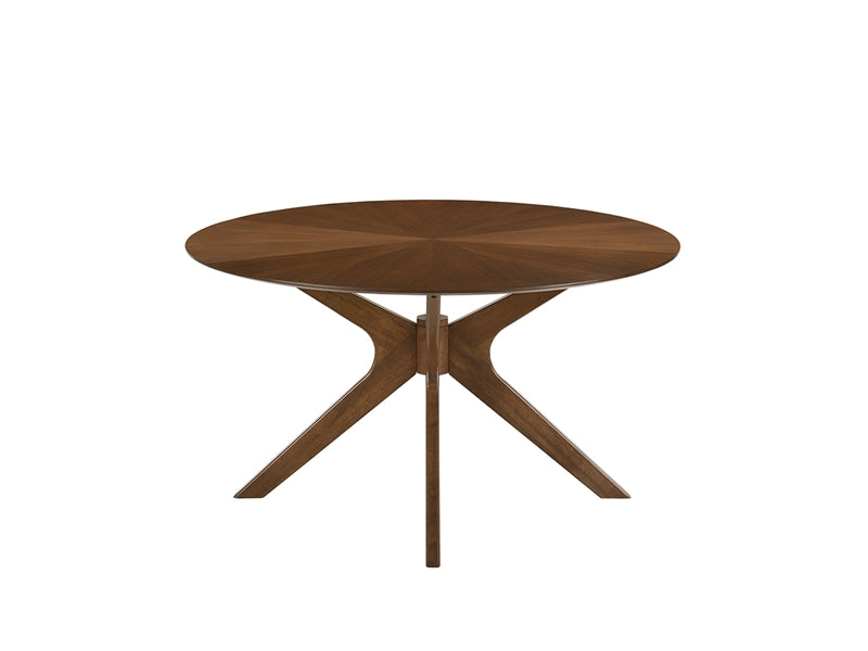 Dining Table Kitchen Table Round Walnut