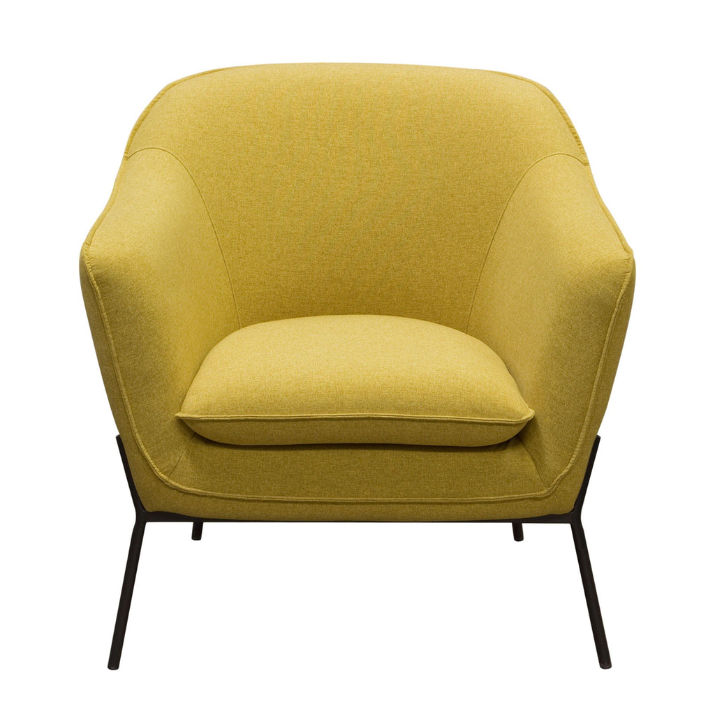 Yellow Chair side chair accent chair Lounge chair