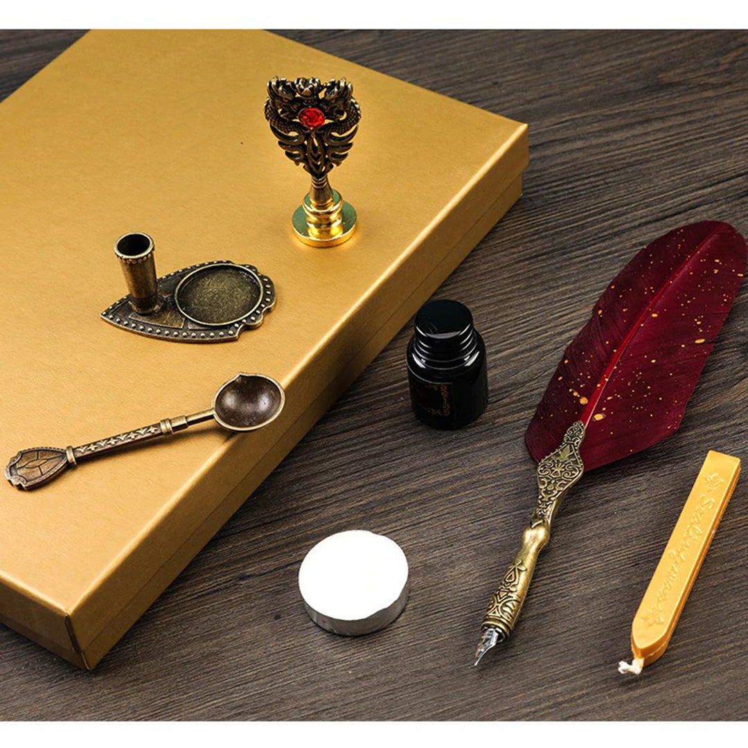 Luxuryx Fountain Pen Set with Wax