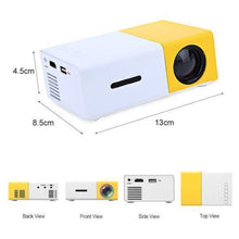 Load image into Gallery viewer, PocketOptics Mini HD Movie Projector