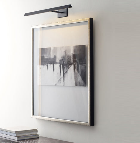 Hanging a picture light