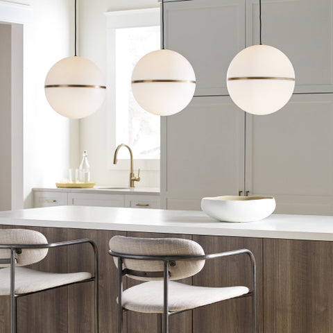 Hanging Pendants Over an Island or Counter