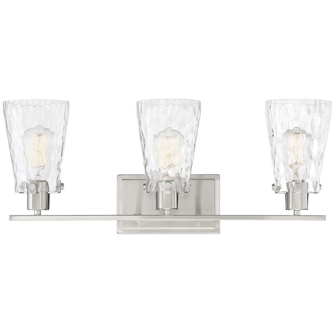 Savoy House - 8-4508-3-SN - Three Light Bath Bar - Vaughan - Satin Nickel