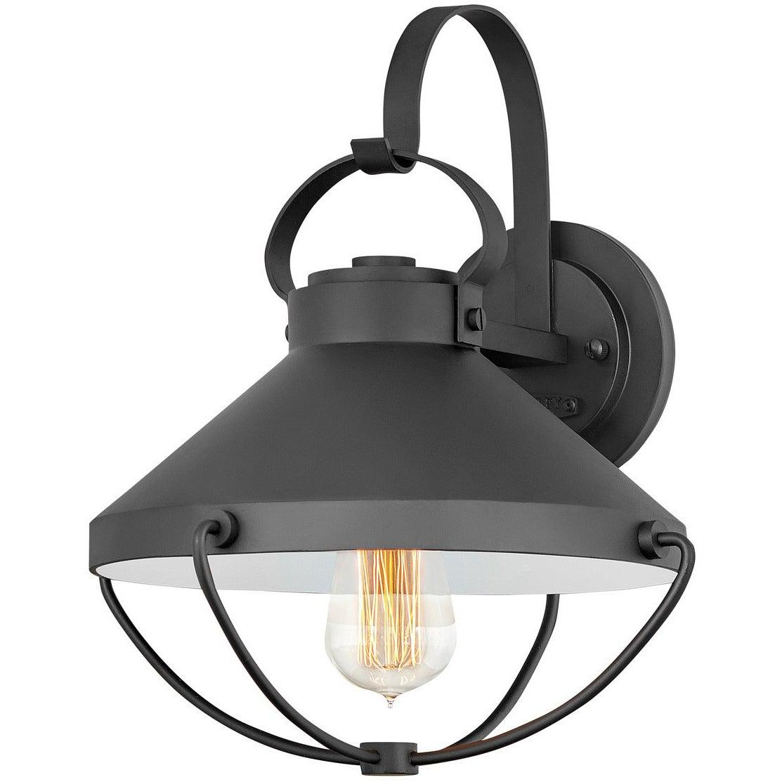 Hinkley Canada - 2694BK - One Light Outdoor Lantern - Crew - Black