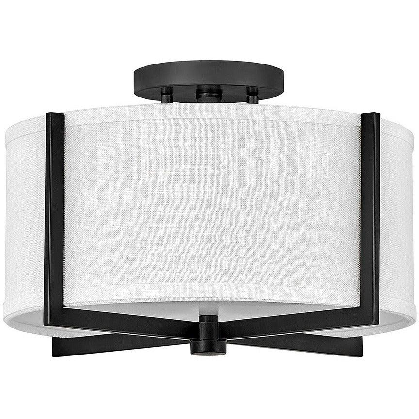 Hinkley Canada - 41706BK - Two Light Foyer Pendant - Axis - Black