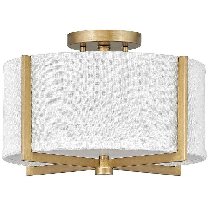 Hinkley Canada - 41706HB - Two Light Foyer Pendant - Axis - Heritage Brass