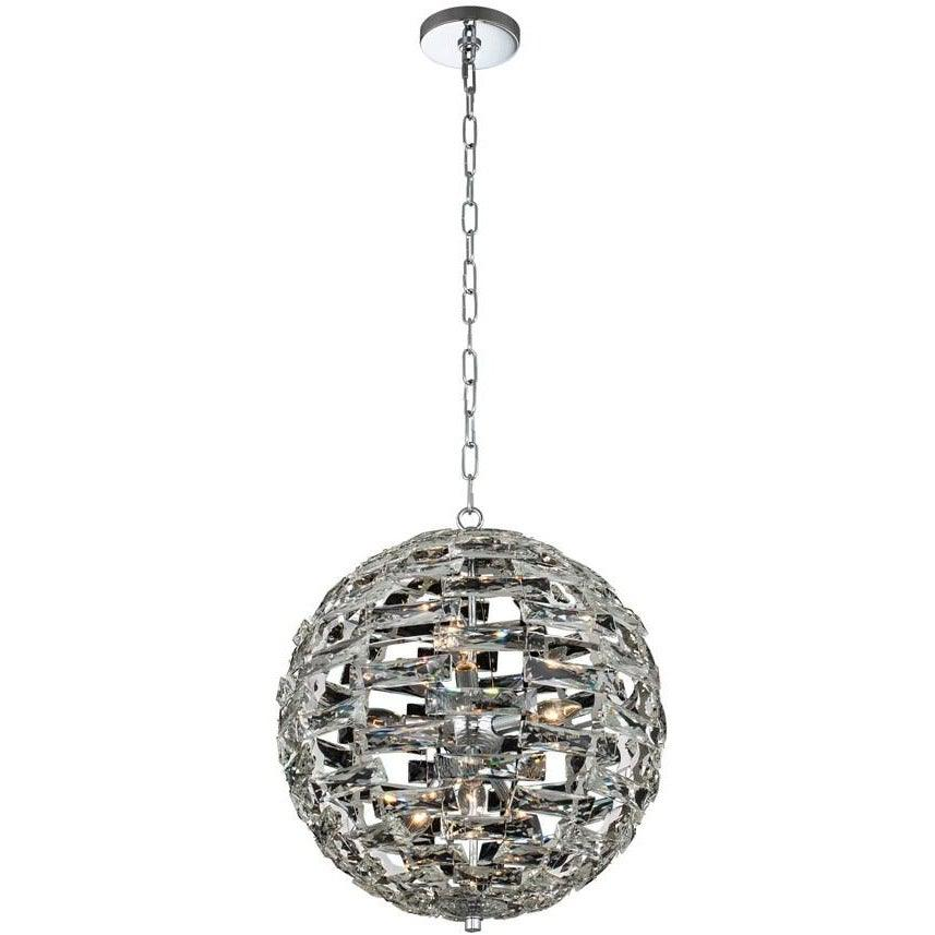 Allegri - 037255-010-FR001 - Nine Light Pendant - Alta - Polished Chrome