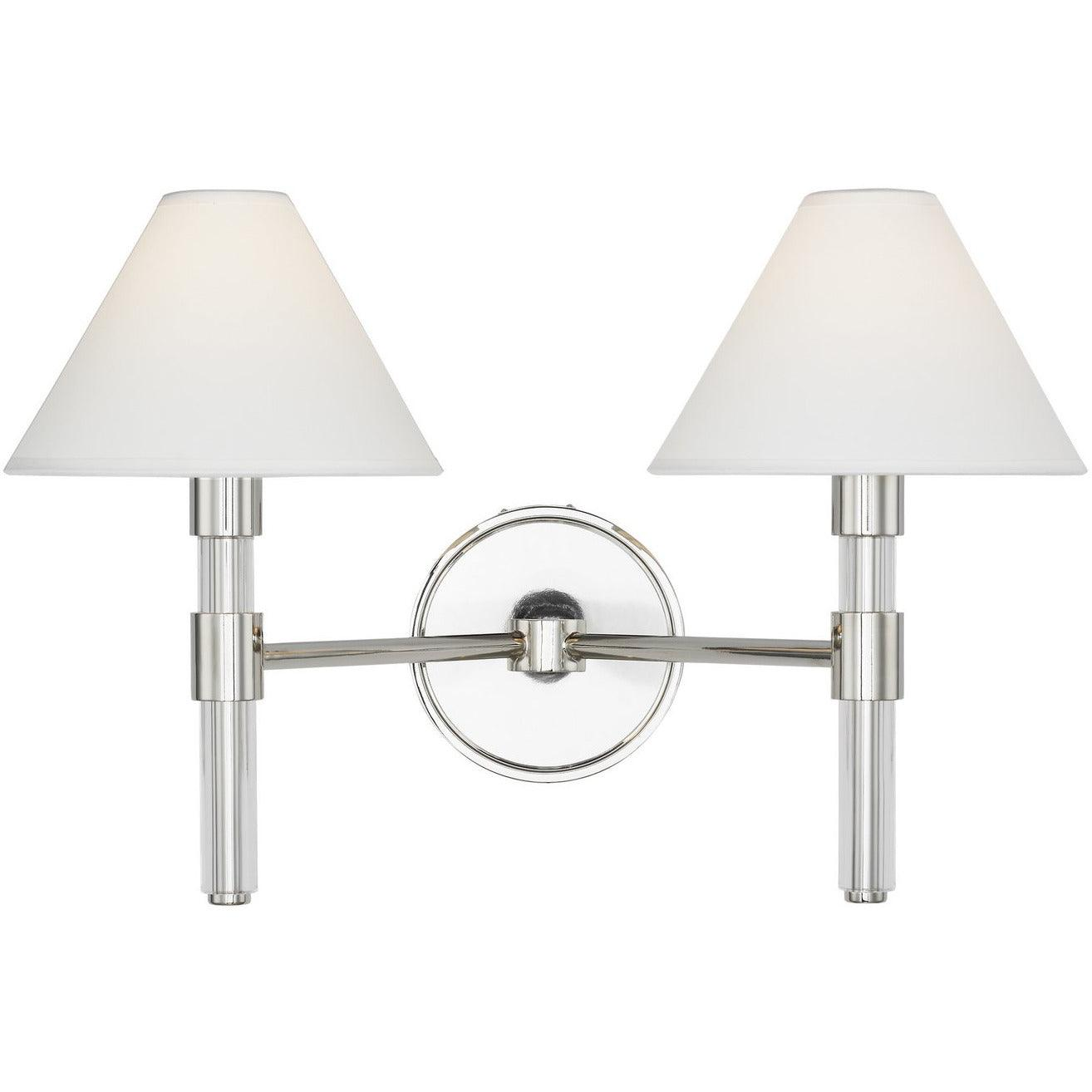 Lauren by Ralph Lauren - LV1032 - Generation Lighting - Robert - Polished Nickel