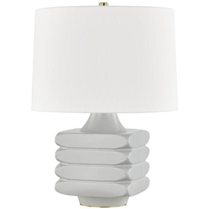 Hudson Valley - L1420-GRY - One Light Table Lamp - Sag Harbor
