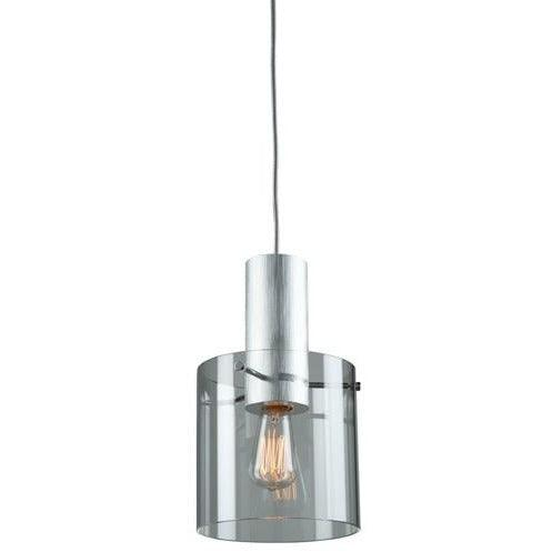Artcraft Lighting - AC11520CL - One Light Pendant - Henley - Brushed Aluminum & Clear Glass