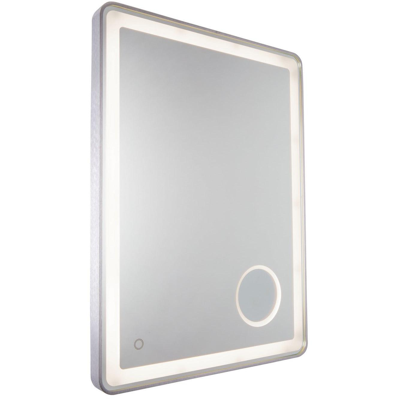 Artcraft Lighting - AM317 - LED Mirror - Reflections - Brushed Grey