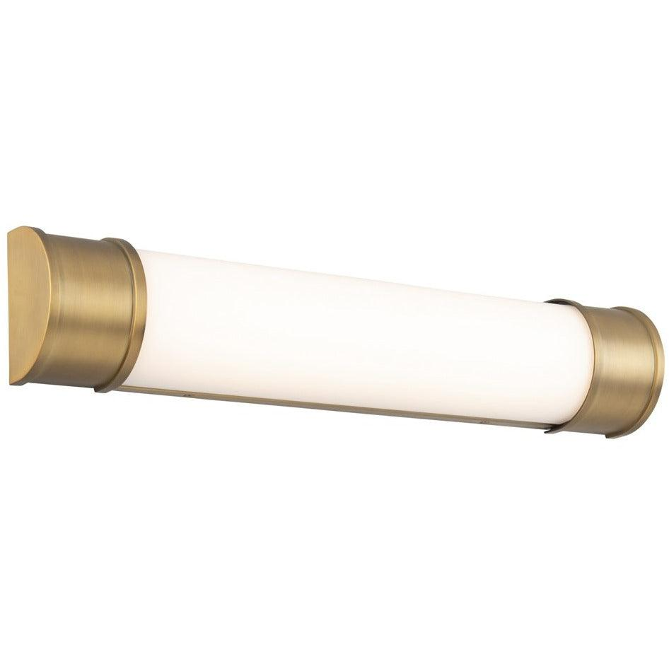 WAC Lighting - WS-37024-AB - LED Bathroom Vanity - Mercer - Aged Brass