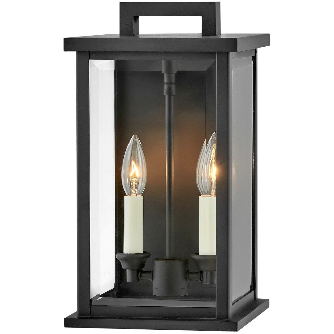 Hinkley Canada - 20010BK - Two Light Outdoor Wall Mount - Weymouth - Black