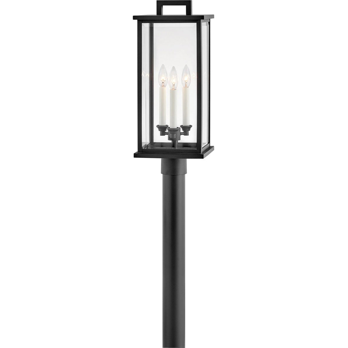 Hinkley Canada - 20011BK - Three Light Outdoor Post Mount - Weymouth - Black
