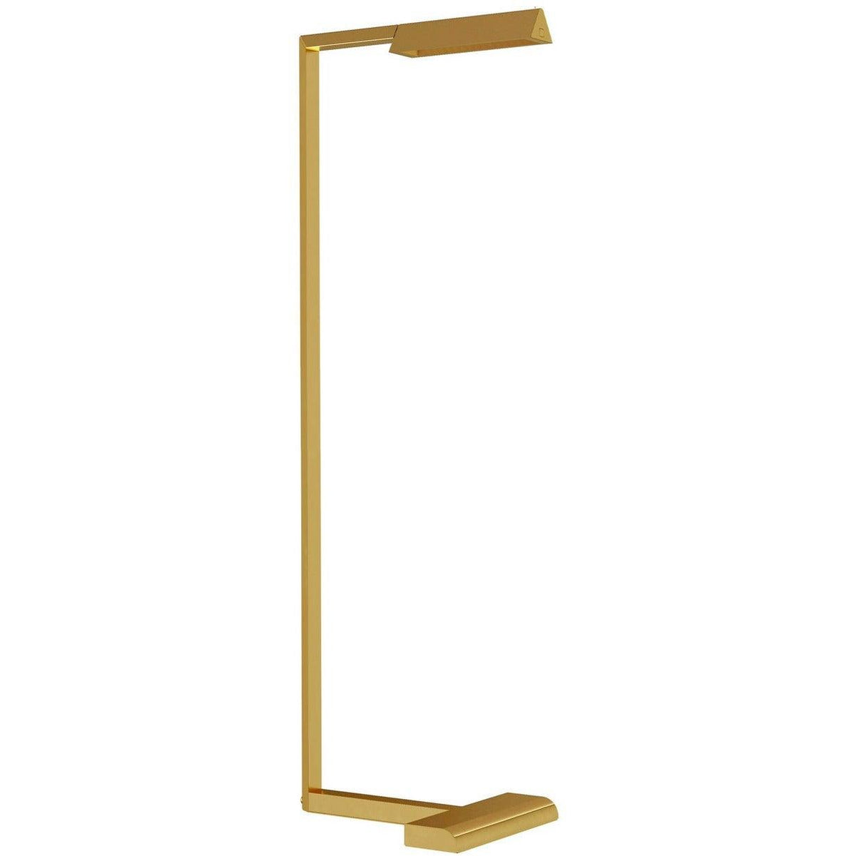 Tech Lighting - 700PRTDES38NB-LED927 - LED Floor Lamp - Dessau - Natural Brass