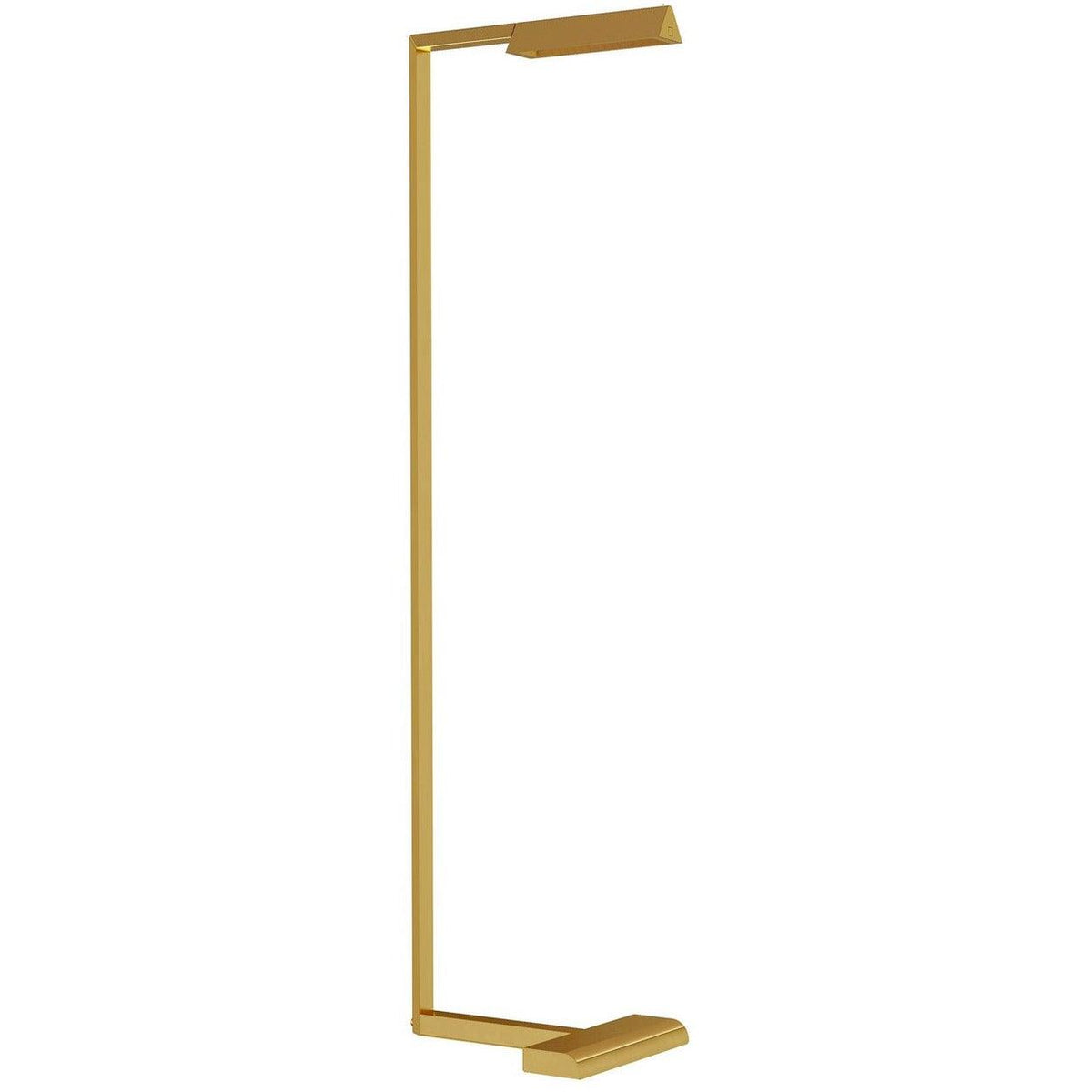 Tech Lighting - 700PRTDES46NB-LED927 - LED Floor Lamp - Dessau - Natural Brass