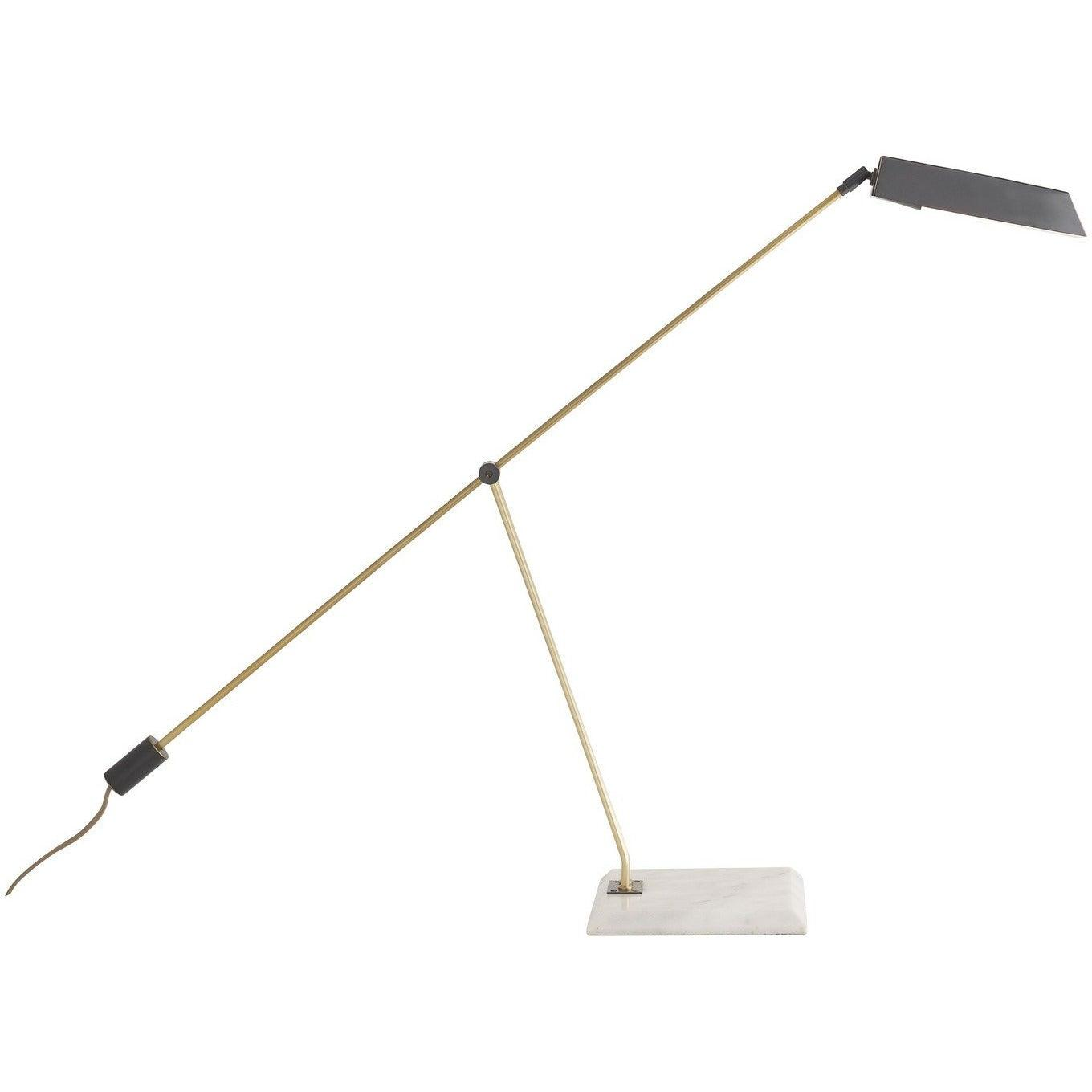 Arteriors - 49679 - LED Desk Lamp - Devin - White