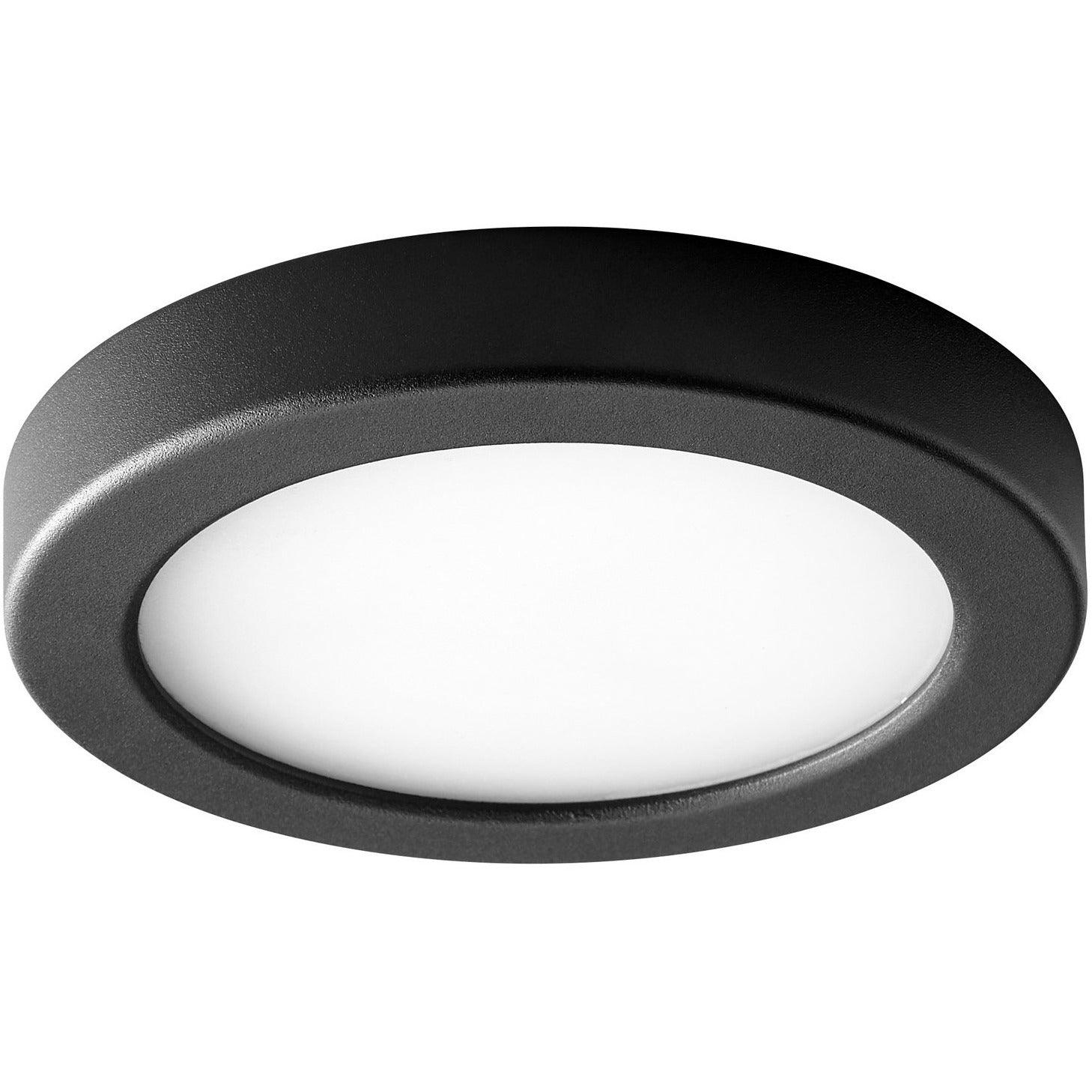Oxygen - 3-645-15 - LED Ceiling Mount - Elite - Black