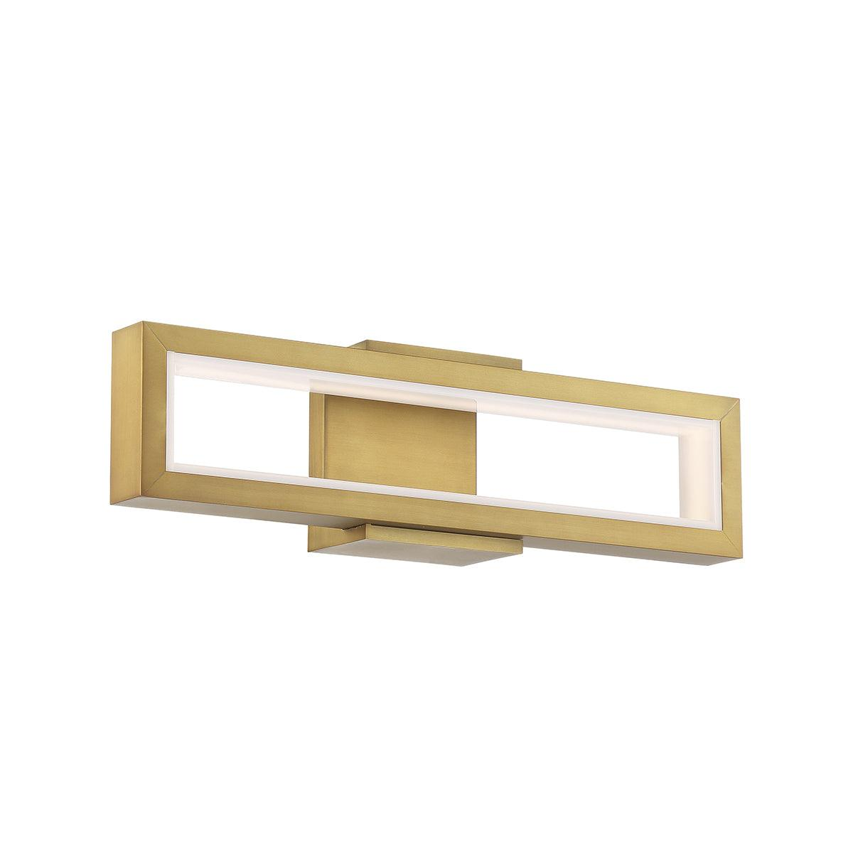 Modern Forms Canada - WS-50820-AB - LED Bathroom Vanity - Mies - Aged Brass