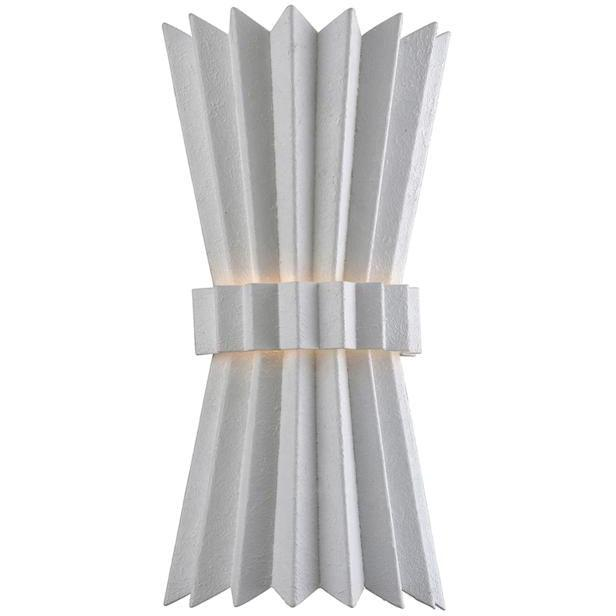 Corbett Lighting - 313-12 - Wall Sconce - Moxy - Gesso White